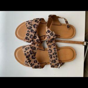 america eagle Cheetah sandals